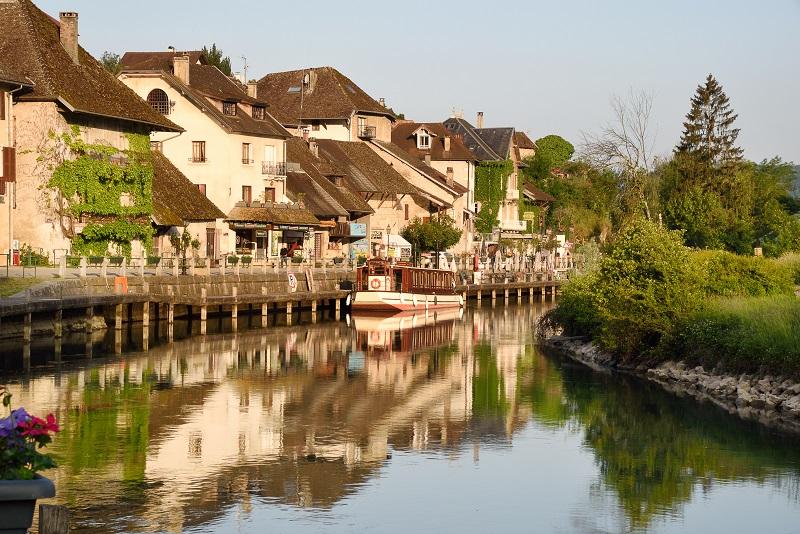 AlpAddict sur le canal de Savière