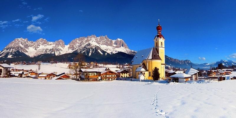 Du ski à Kitzbühel avec AlpAddict