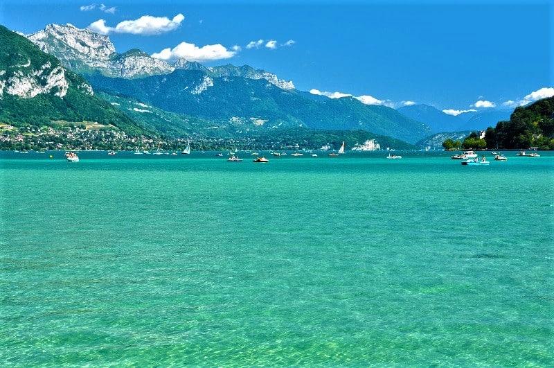 AlpAddict au bord du lac d'Annecy