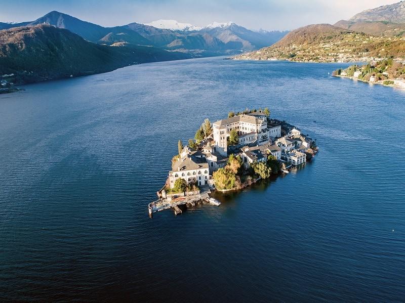 Lac du piémont avec AlpAddict