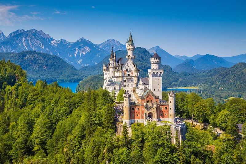 Bavière: les Alpes romantiques