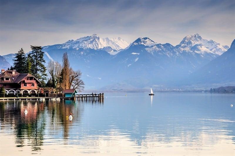 AlpAddict en hiver autour du Lac d'Annecy