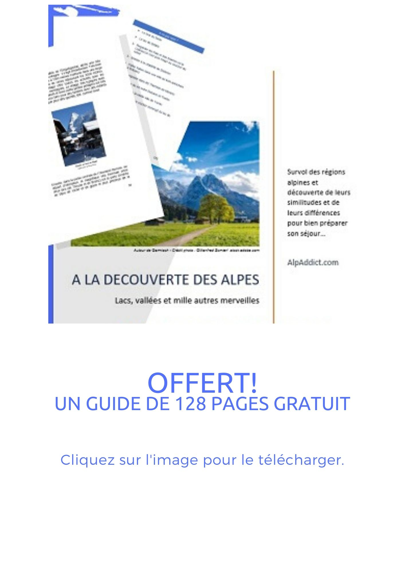Guide Alpes 128 pages à télécharger