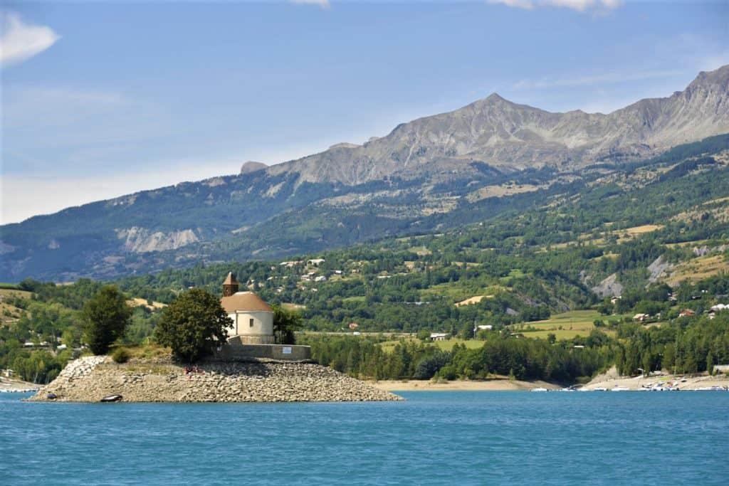 Vacances sur les rives du Lac de Serre Ponçon