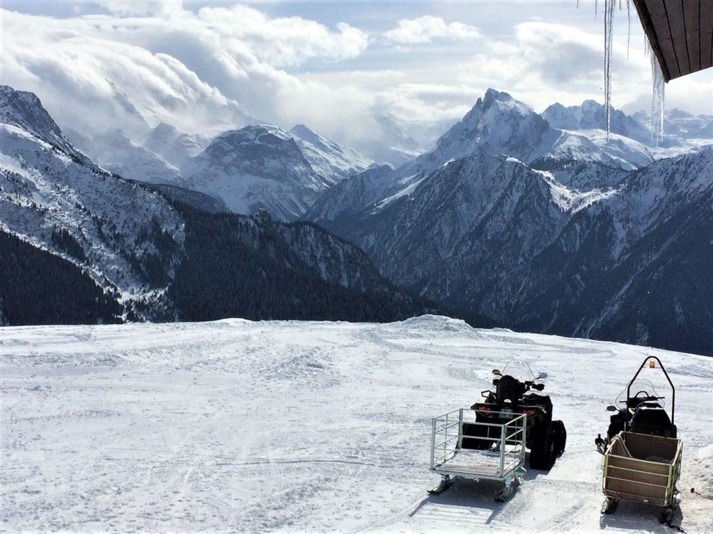 Une pause avec AlpAddict face à la Vanoise