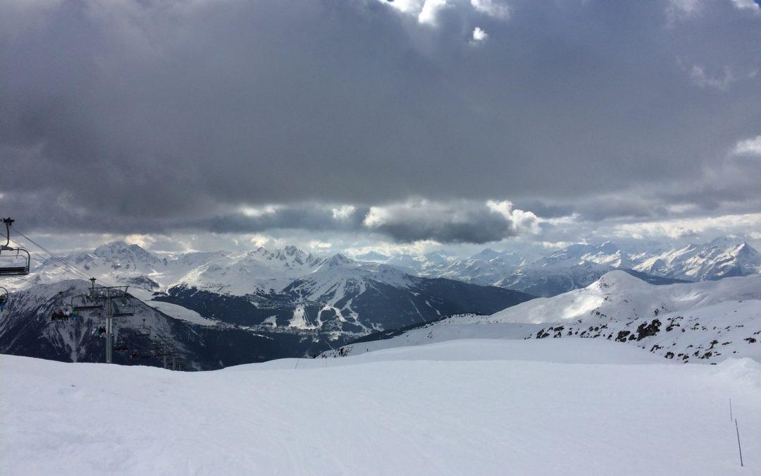 AlpAddict depuis les hauteurs de La Plagne