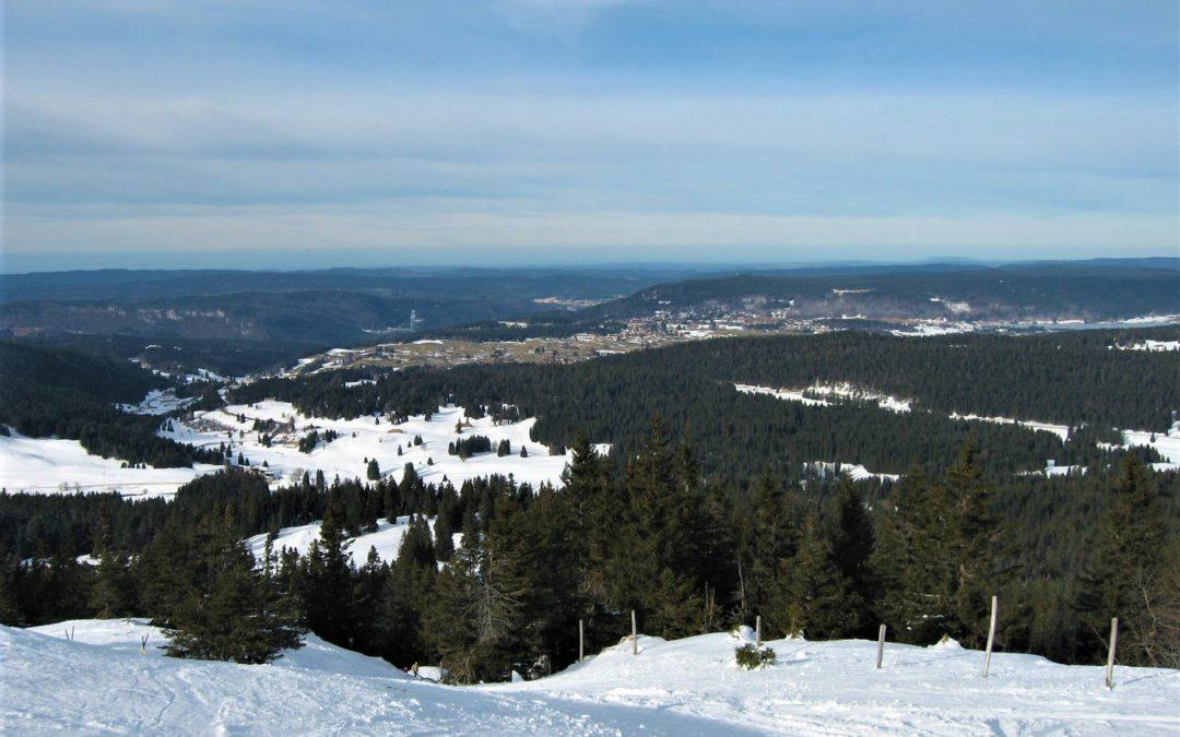 Les Rousses : voir les Alpes depuis le Jura