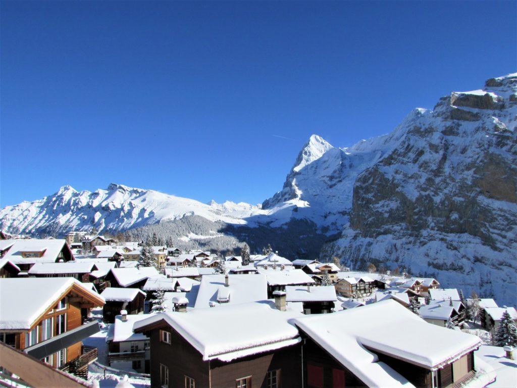 Panorama sur l'Eiger avec AlpAddict