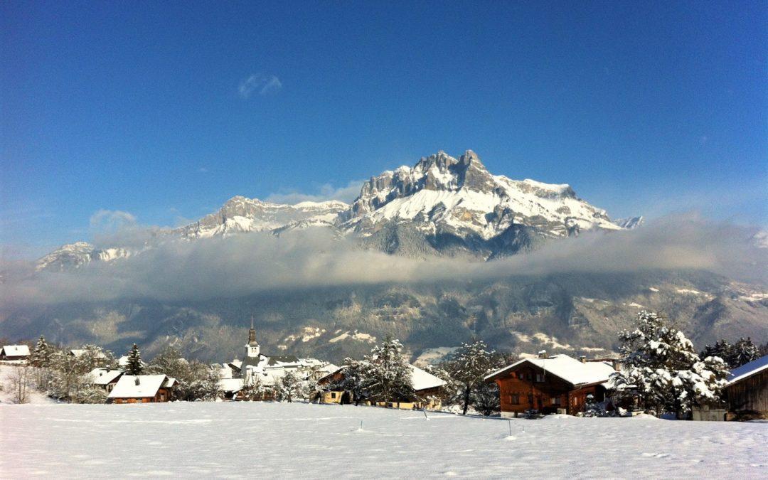 Les Alpes en hiver