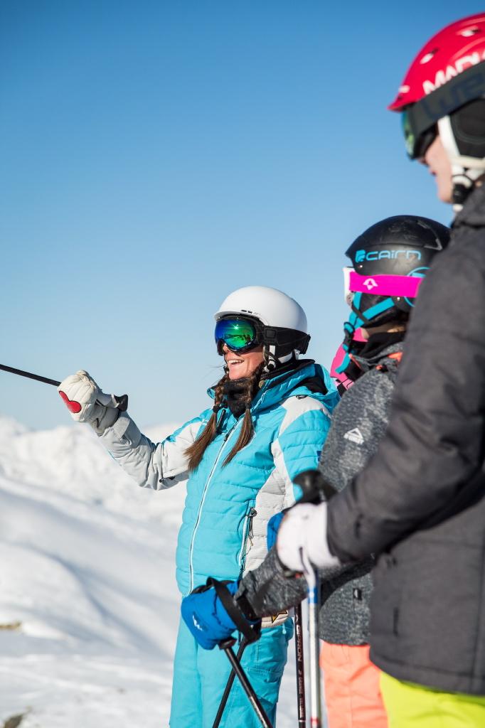 Skier avec l'ESI