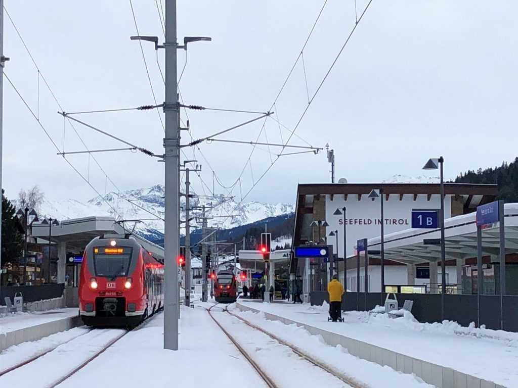 AlpAddict en train à Seefeld