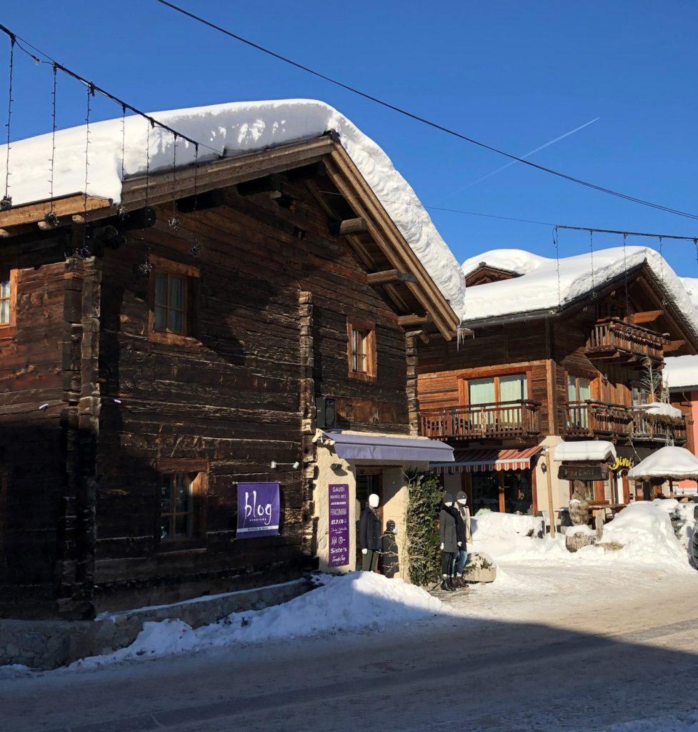 Architecture traditionnelle à Livigno
