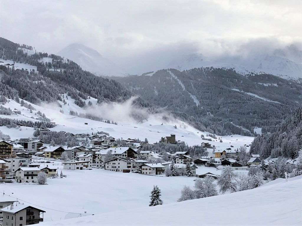 Skier à Nauders avec AlpAddict